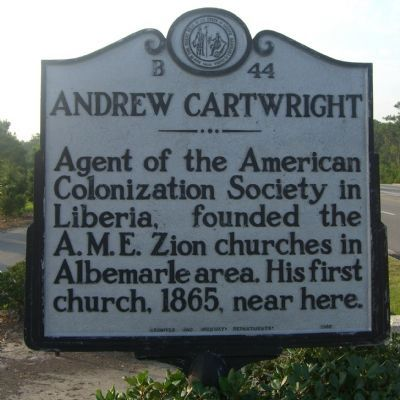 Andrew Cartwright Marker image. Click for full size.