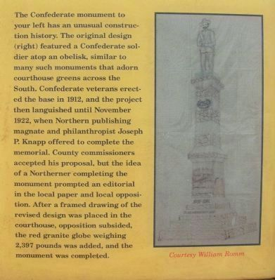 Sidebar on the Currituck County Courthouse Marker image. Click for full size.