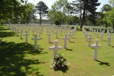 Saint Laurent Military Cemetery, Near the Normandy Coast image. Click for full size.