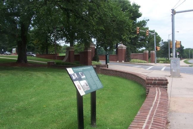 """The University of Maryland Is Deeply Rooted in History"" Marker; image. Click for full size."