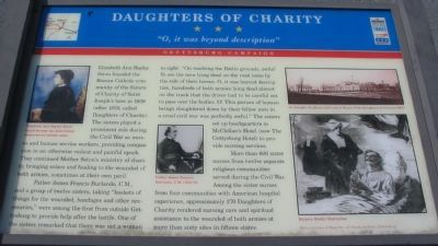 Daughters of Charity Marker image. Click for full size.