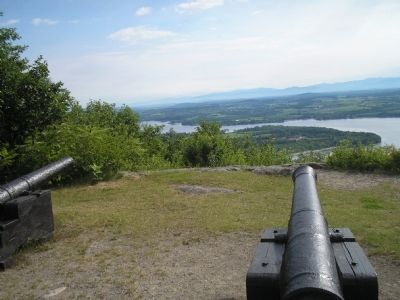 Fort Ticonderoga from Mount Defiant image. Click for full size.