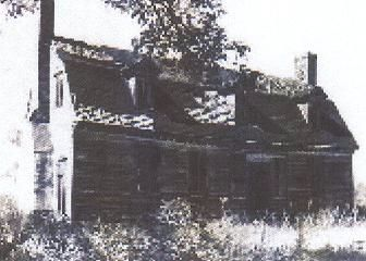 Wantwater House, prior to its collapse in the 1930s image. Click for full size.