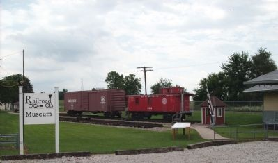 Rolling Stock: Featuring a Wooden Caboose image. Click for full size.