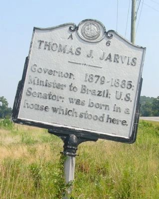 Thomas J. Jarvis Marker image. Click for full size.
