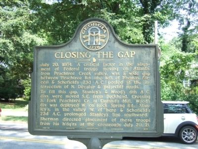 Closing the Gap Marker image. Click for full size.