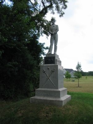 16th Pennsylvania Cavalry Monument image. Click for full size.