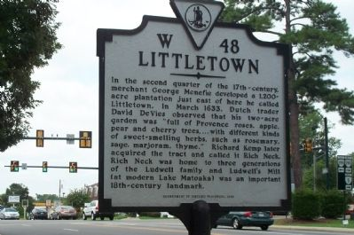 Littletown Marker image. Click for full size.
