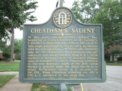 Cheatham's Salient Marker image. Click for full size.