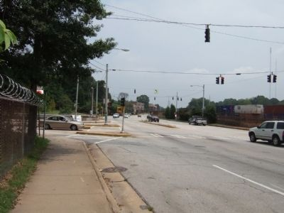 View from Marker towards Candler Street image. Click for full size.