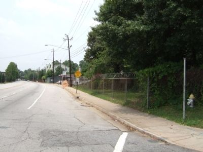 View from Marker towards DeGress Avenue image. Click for full size.
