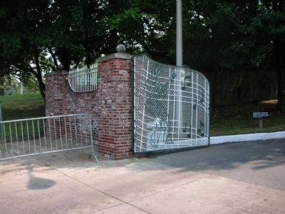 Graceland's Left Gate image. Click for full size.