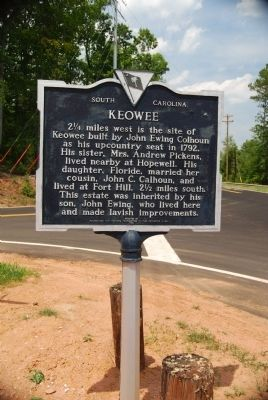 Keowee Marker image. Click for full size.
