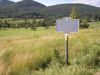 Marker in Ticonderoga image. Click for full size.