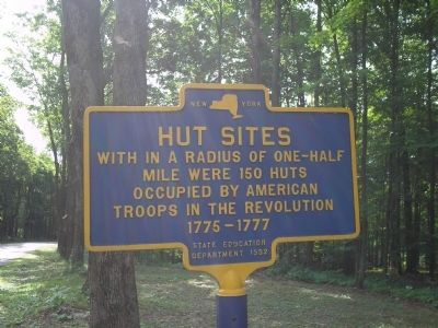 Hut Sites Marker image. Click for full size.
