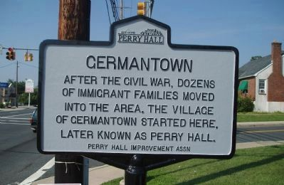 Germantown Marker image. Click for full size.