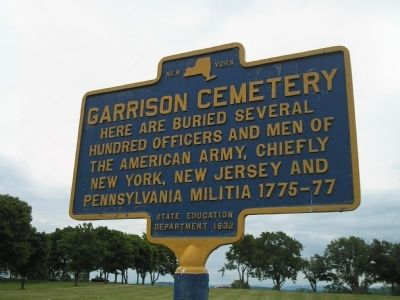 Garrison Cemetery Marker image. Click for full size.