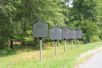 Henrico Town Marker image. Click for full size.