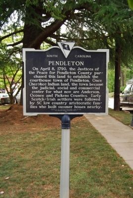 Pendleton Marker image. Click for full size.