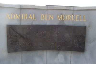 Admiral Ben Moreell Marker image. Click for full size.