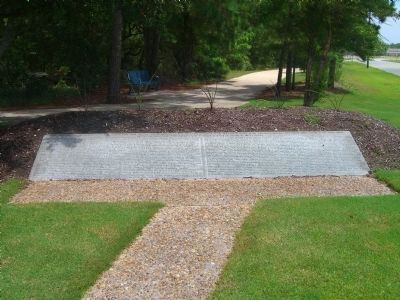 Dare County&#39;s Tribute to Veterans Side Marker </b>(South Side) image. Click for full size.