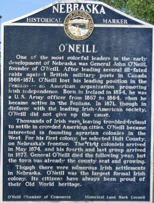 ONeill Marker image. Click for full size.