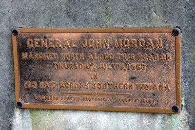 Small Marker:: General John Morgan - - Raid image. Click for full size.