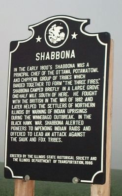 Shabbona Marker image, Touch for more information