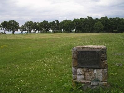 Marker near Fort Ticonderoga image. Click for full size.
