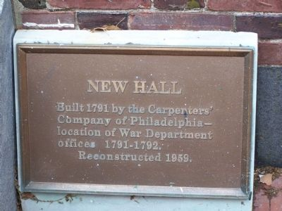 New Hall Marker image. Click for full size.