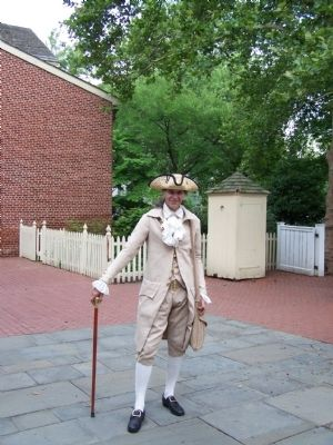 Philadelphia Historic Reenactor image. Click for full size.