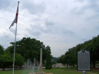 North Augusta Marker at John C. Calhoun Park image. Click for full size.