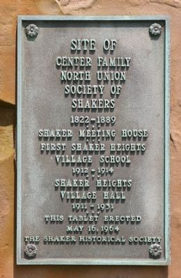 Site of Center Family Marker image. Click for full size.