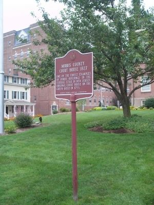 Marker on Washington Street image. Click for full size.