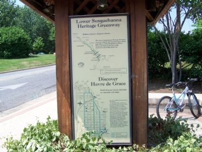 Lower Susquehanna Heritage Greenway Marker image. Click for full size.