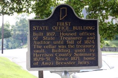 First State Office Building Marker image. Click for full size.