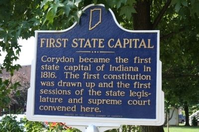 First State Capital Marker image. Click for full size.