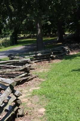 Battle of Corydon - - - Rail Fence image. Click for full size.
