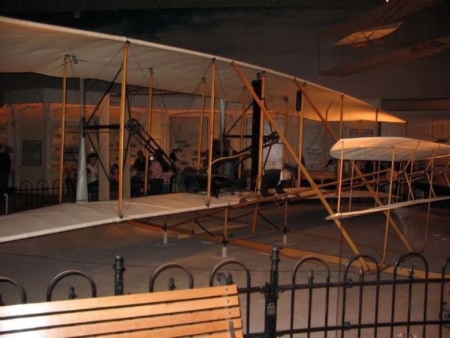 The 1903 Wright Flyer image. Click for full size.