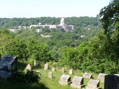 View from Daniel Boone's Grave image. Click for full size.