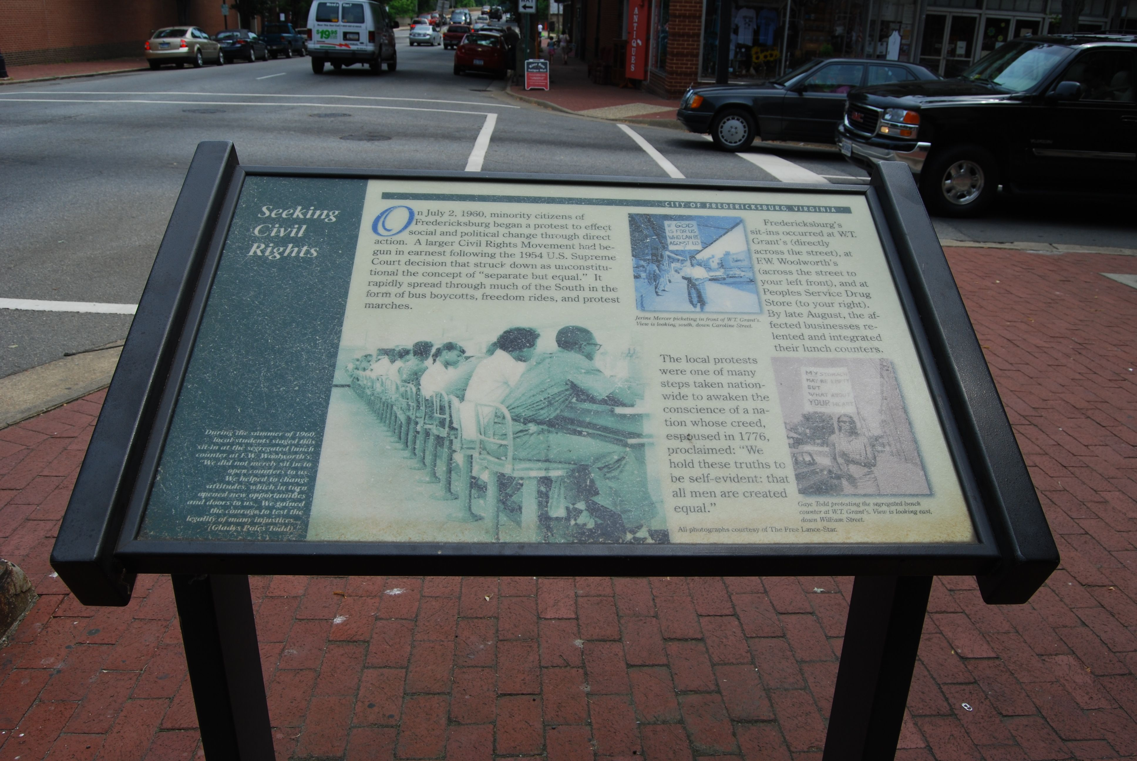 Seeking Civil Rights Marker