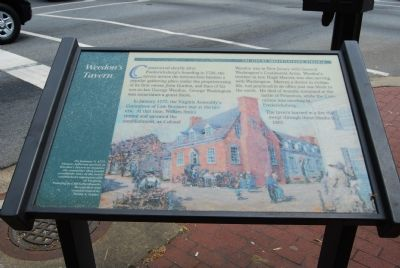 Weedon's Tavern Marker image. Click for full size.