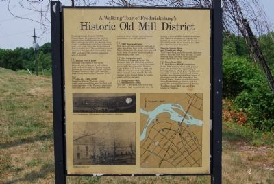 Historic Old Mill District Marker image. Click for full size.