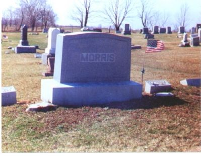 Final Resting Place of B.F. Morris image. Click for full size.