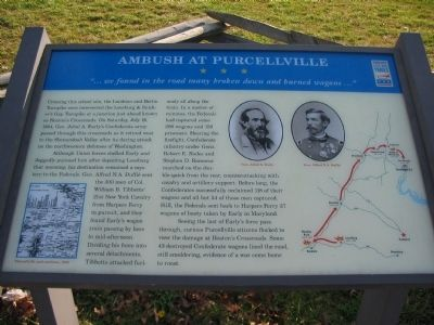 Ambush at Purcellville Marker image. Click for full size.