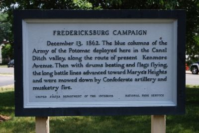 Fredericksburg Campaign image. Click for full size.
