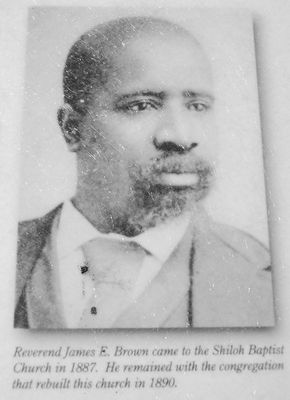 Rev. James E. Brown image. Click for full size.