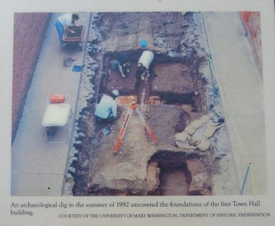 Excavation at Market Square image. Click for full size.