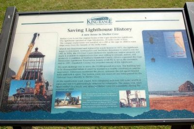 Saving Lighthouse History image. Click for full size.
