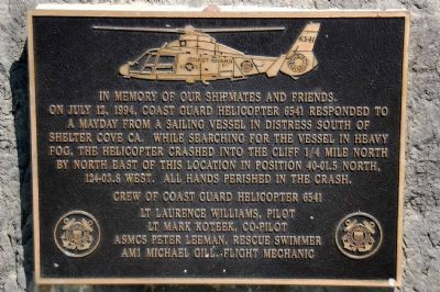 In Memory of Our Shipmates Marker image. Click for full size.